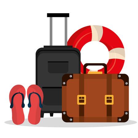 summer holidays: Summer vacations graphic