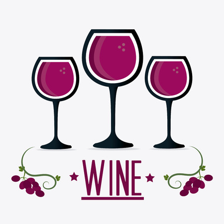 Wine Shop-Design, Vektor-Illustration eps 10. Standard-Bild - 44827215