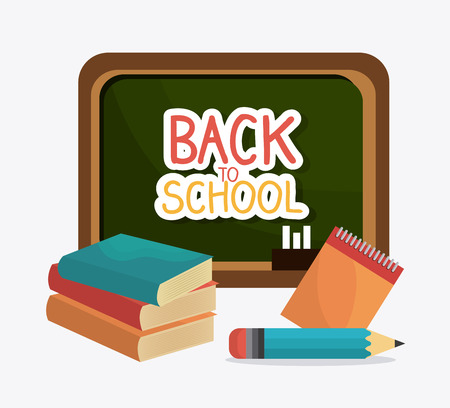 supplies: Back to school design, vector illustration eps10. Illustration