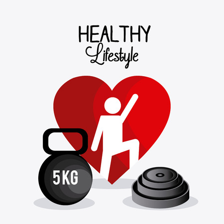 move: Healthy lifestyle design, vector illustration eps 10.