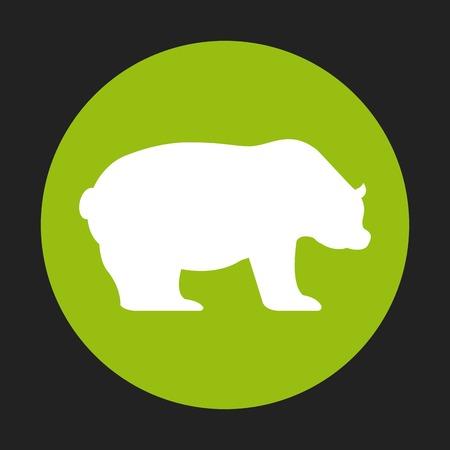 bearish business: stock exchange symbol  design, vector illustration eps10 graphic Illustration