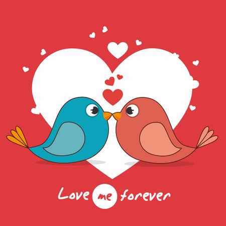 Tarjeta del amor con los corazones y los detalles de diseño de color rosa, ilustración vectorial eps 10. Ilustración de vector