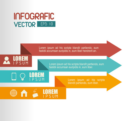 Business Growth and profits, vector illustration eps 10