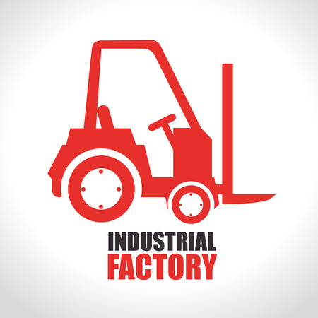 Factory and industry plant equipment design, vector illustration eps 10.