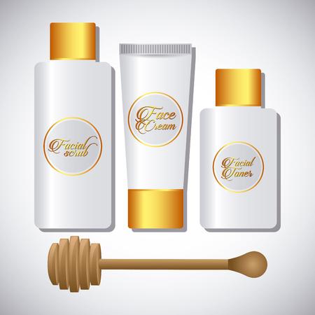 cremas faciales: spa de dise�o zona de relax, ilustraci�n vectorial gr�fico