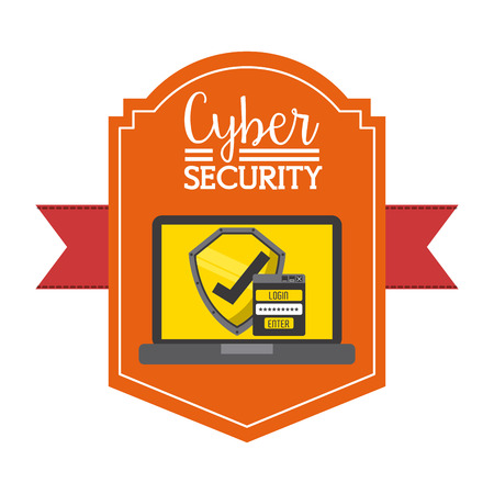 swindle: cyber security design, vector illustration graphic Illustration