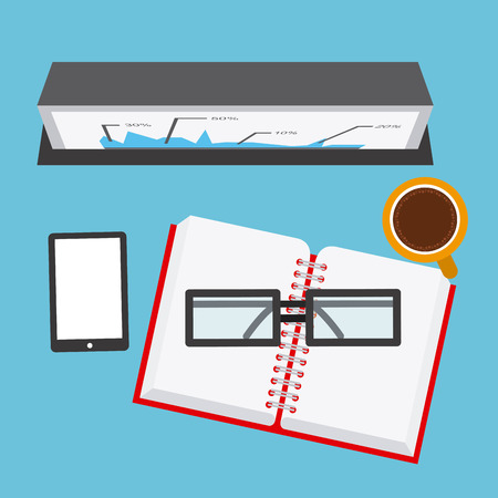 work space: work space design, vector illustration   graphic