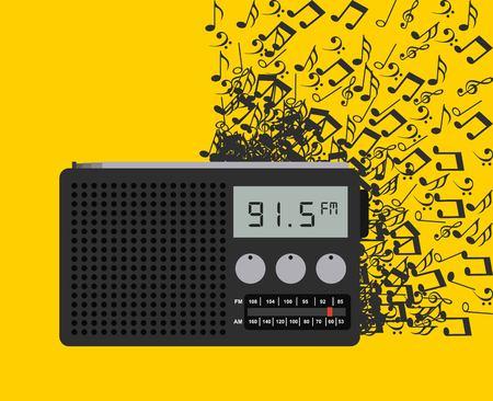 digital music: digital music design, vector illustration   graphic