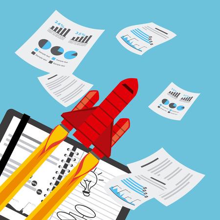 financial analysis: financial analysis  design, vector illustration   graphic Illustration