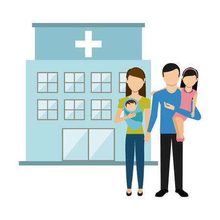 family man: happy family design, vector illustration   graphic Illustration