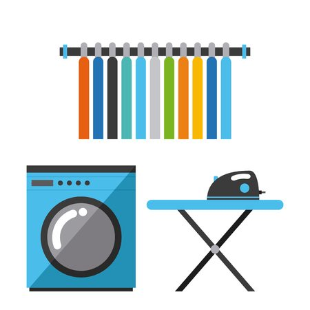 dry cleaner: laundry service design, vector illustration   graphic