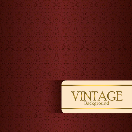 Vintage retro background, vector illustration