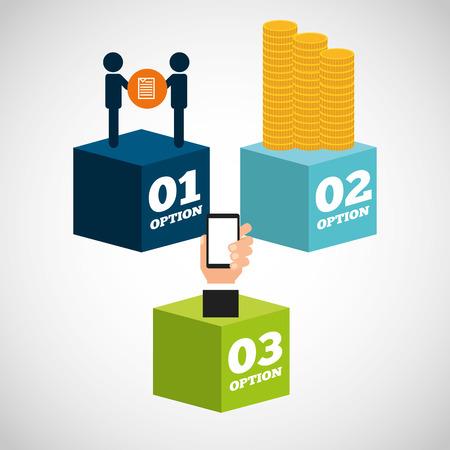 infochart: money infographic design, vector illustration   graphic