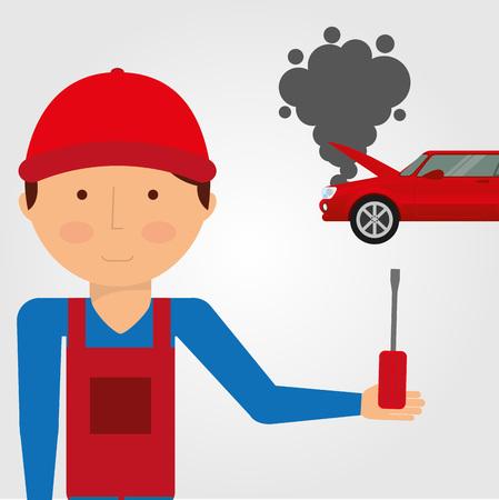 car accident: car accident design, vector illustration eps10 graphic