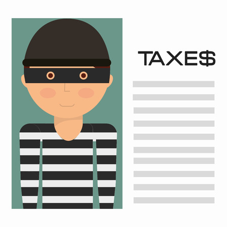 taxation: taxes payment design, vector illustration eps10 graphic