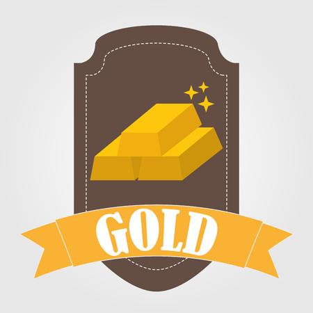 bullion: bullion gold design, vector illustration eps10 graphic