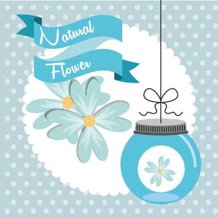 decoration design: decoraci�n floral dise�o, ilustraci�n vectorial gr�fico eps10