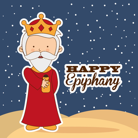 epiphany: happy epiphany design, vector illustration eps10 graphic