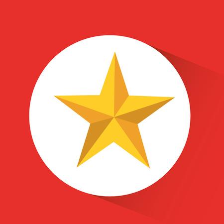 estrellas de navidad: diseño de la estrella de la navidad, ejemplo gráfico del vector eps10 Vectores