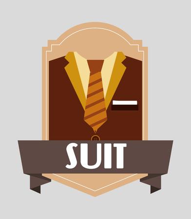 menswear: menswear fashion design, vector illustration eps10 graphic