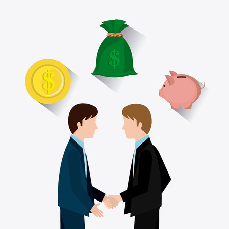 ビジネスと人材インフォ グラフィック、ベクター画像。