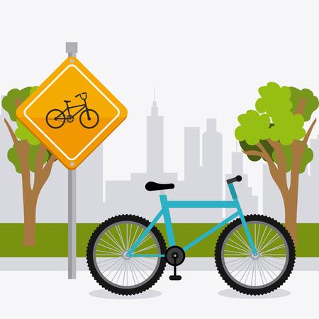clipart street light: Transport, traffic on road and vehicles design, vector illustration.
