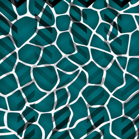 Abstract background animal prints design, vector illustration.