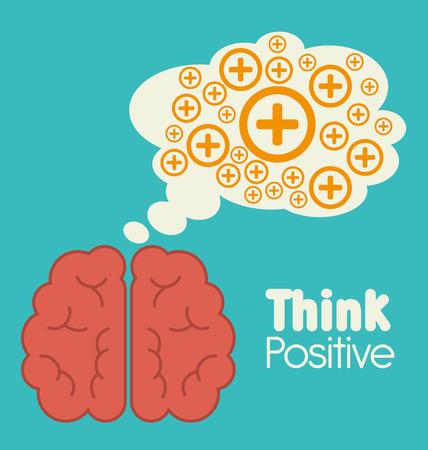 mentality: Big idea, creative and intelligence theme design, vector illustration