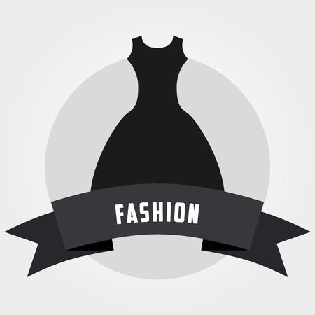 elegant woman: feminine fashion design, vector illustration eps10 graphic Illustration
