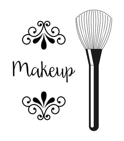 la conception de produits de maquillage, illustration graphique eps10