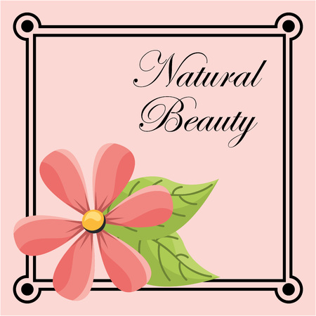 natural beauty: natural beauty design, vector illustration eps10 graphic Illustration