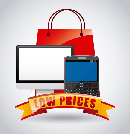 low prices: low prices design, vector illustration eps10 graphic