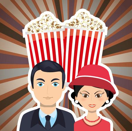 film industry: film industry  design, vector illustration eps10 graphic Illustration