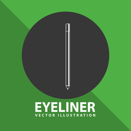 brows: makeup product design, vector illustration eps10 graphic Illustration