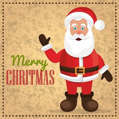 hapiness: Merry christmas and happy new year card design, vector illustration eps 1o