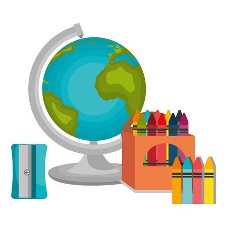world class: Back to school season design, vector illustration eps10 Illustration