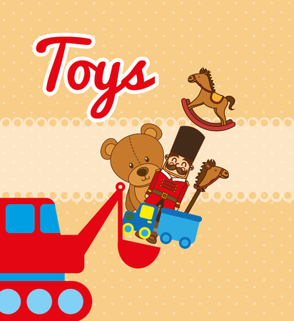 baby toy: children toys design, vector illustration eps10 graphic