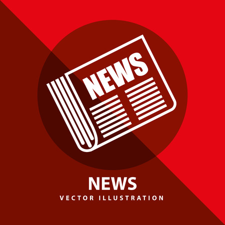 news icon: breaking news design, vector illustration eps10 graphic