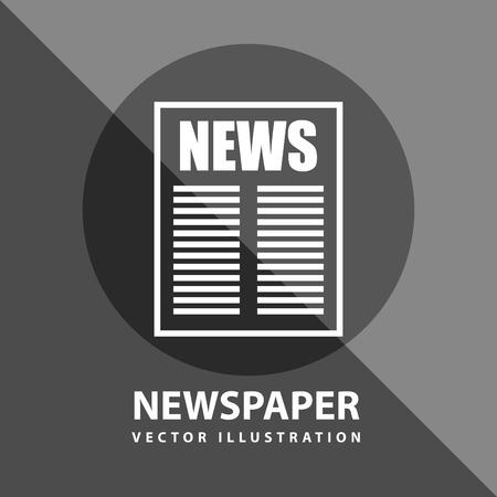 urgent announcement: breaking news design, vector illustration eps10 graphic