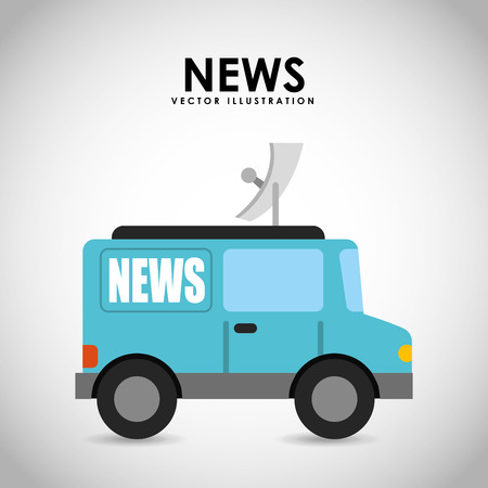 antena: breaking news design, vector illustration eps10 graphic