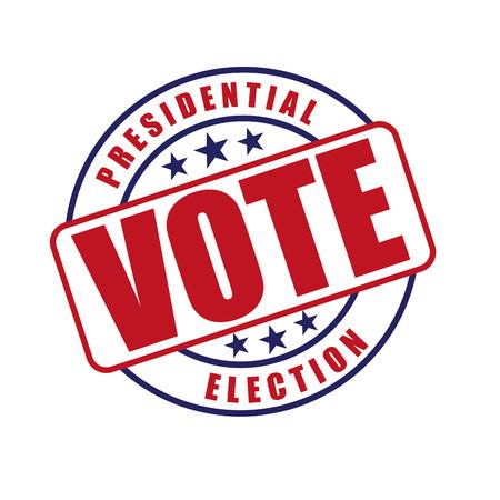 election debate: election season design, vector illustration eps10 graphic Illustration
