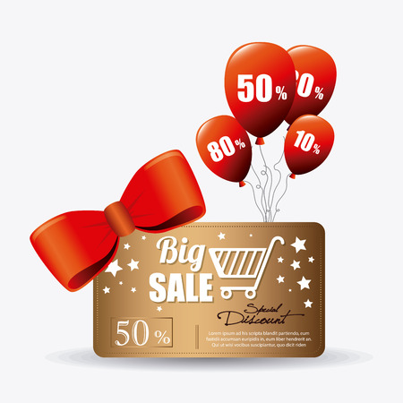 special offers: Shopping special offers, discounts and promotions design, vector illustration eps 10.