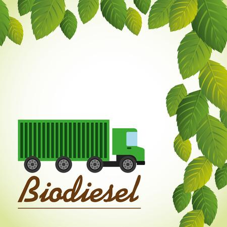 biodiesel: ecological concept  design, vector illustration eps10 graphic