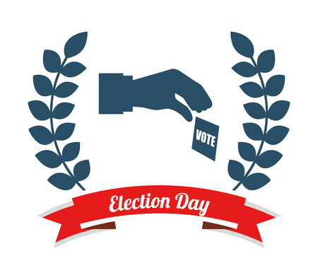 election season design, vector illustration eps10 graphic Illustration
