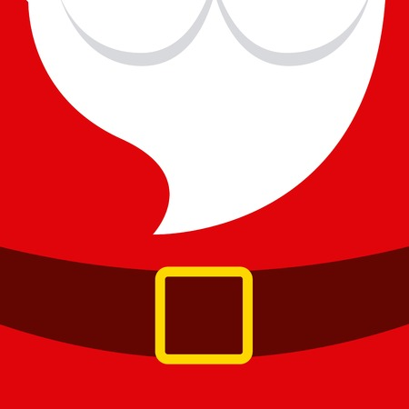 papa noel: dise�o feliz navidad feliz, ejemplo gr�fico vectorial eps10