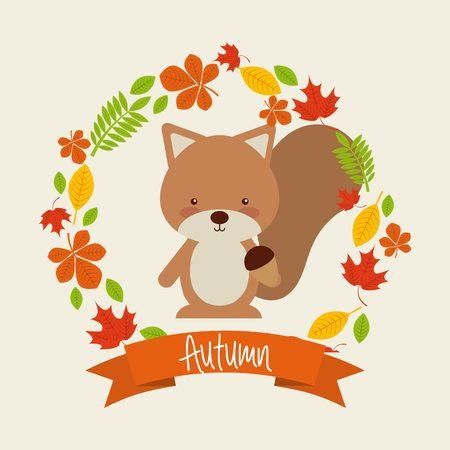 autum: autum season design, vector illustration eps10 graphic