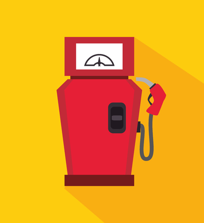 oil and gas industry: Gas station and oil industry design, vector illustration eps10. Illustration