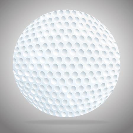 golf  ball: Deporte Golf tema de diseño, ilustración vectorial eps 10.