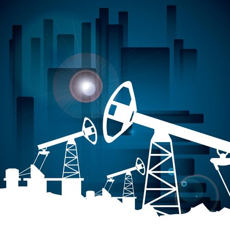 oil industry: oil prices design, vector illustration eps10 graphic