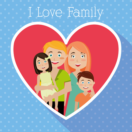 hapiness: Family and home design, vector illustration eps 10